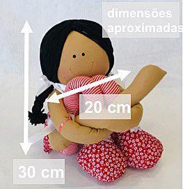 Boneca Abraçadinha Lulu