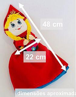 Boneca Chapeuzinho Vermelho