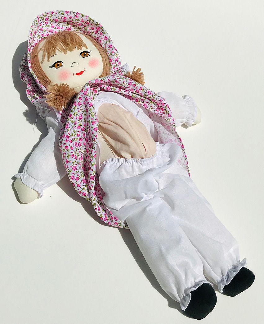 Boneca Grávida com Vestido