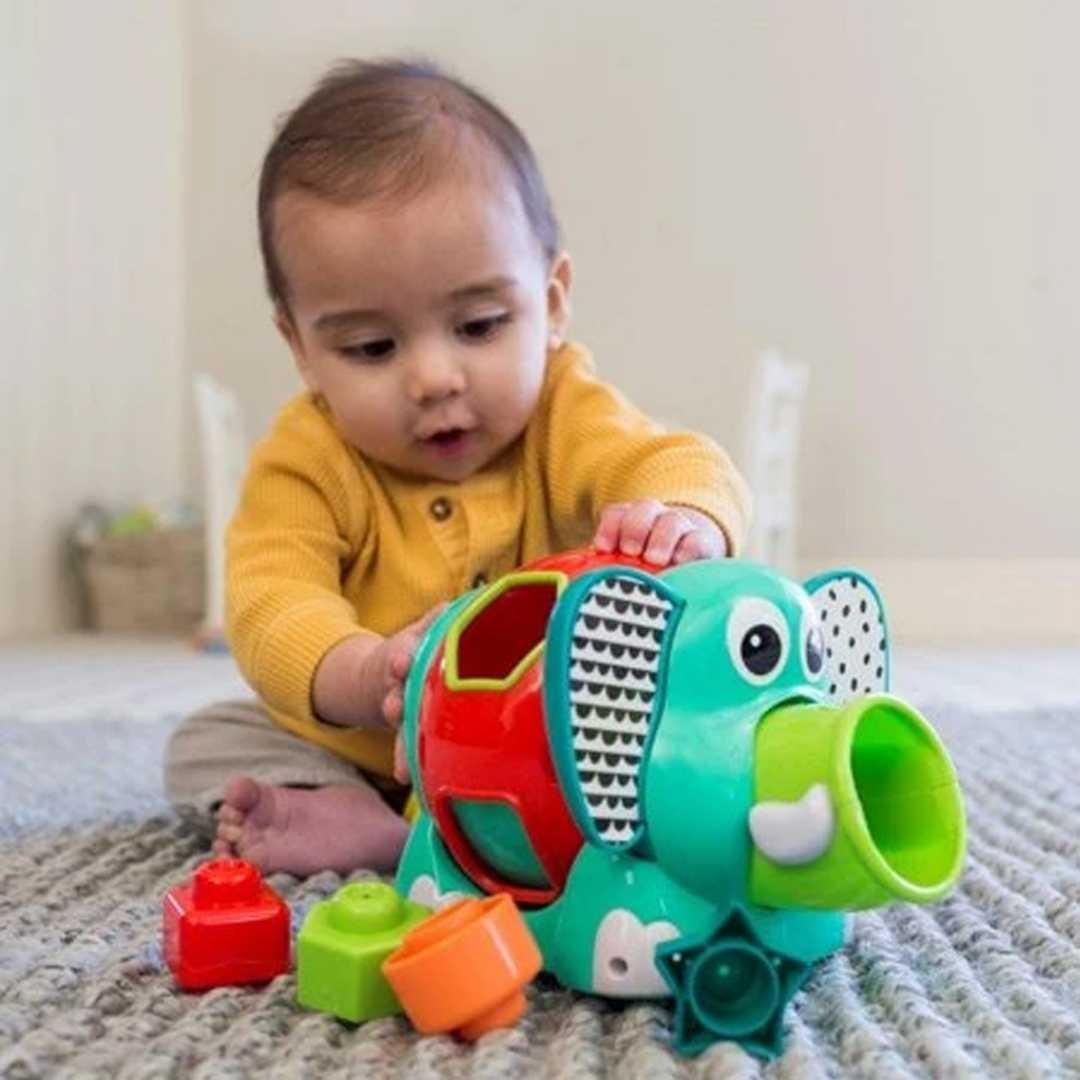 Brinquedo Interativo de Encaixe Elefante