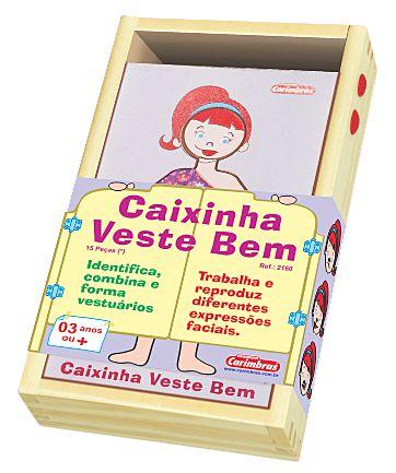 Caixinha Veste Bem - Menina