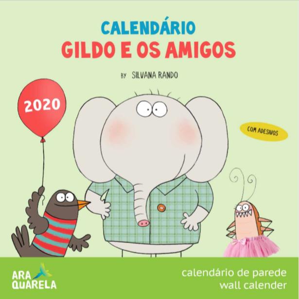 Calendário de Parede Gildo 2020