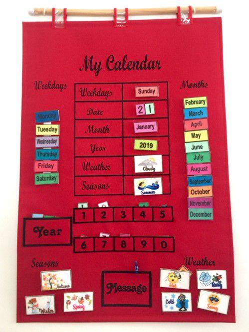 Calendário em Inglês