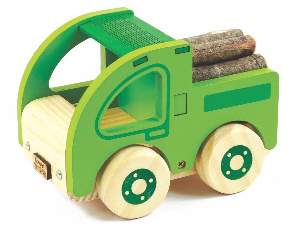 Caminhão com toras
