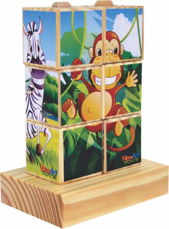 Coleção Cubos Bicharada Maluca
