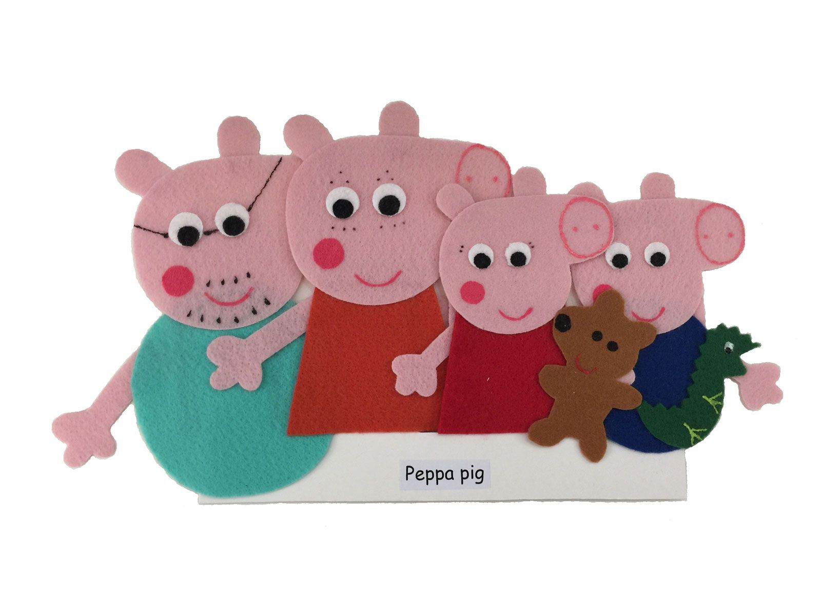 Dedoches Peppa Pig