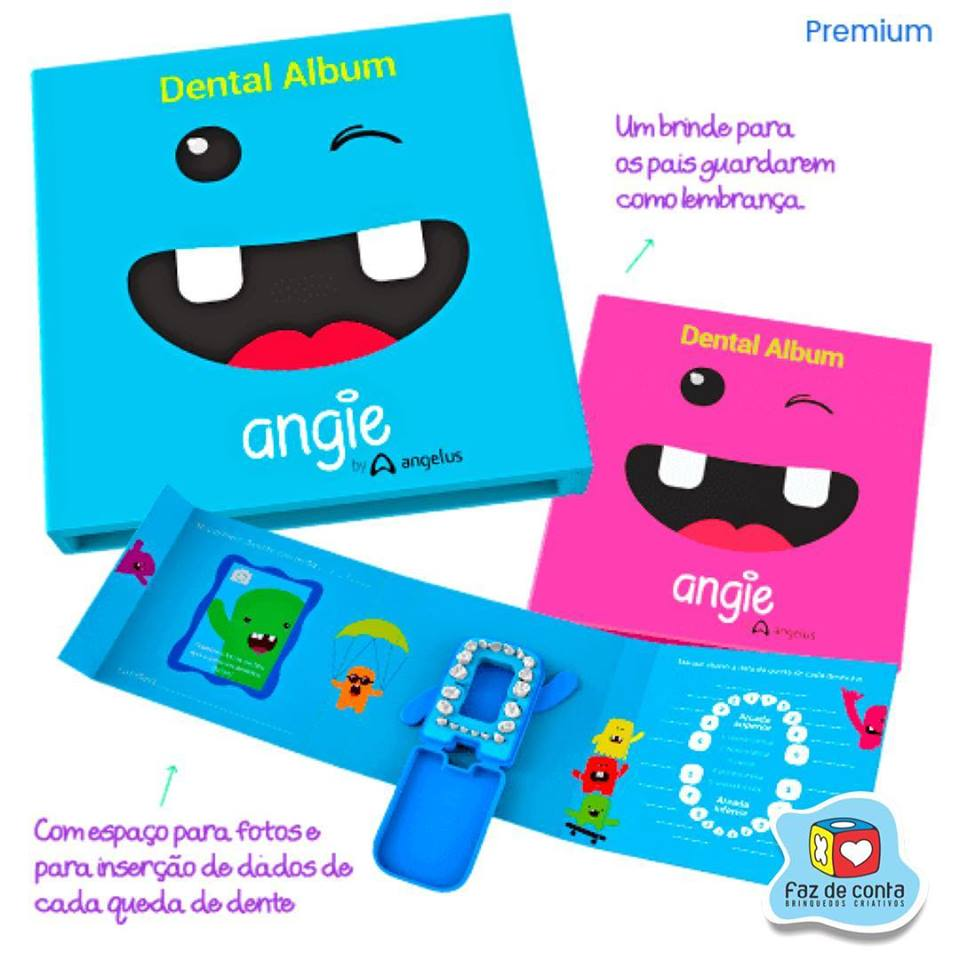Dental Album Premium Rosa