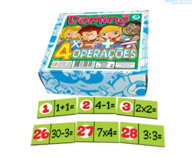 Domino das 4 Operações