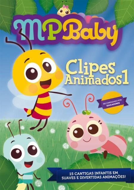 DVD MPBaby Clipes Animados Vol.1