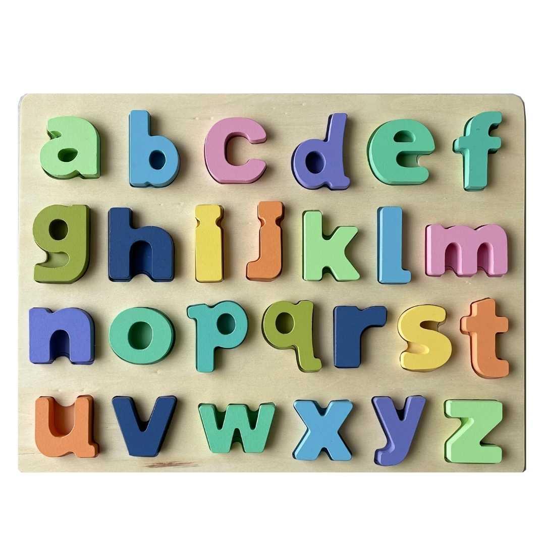 Encaixe Divertido Letras Minúsculas