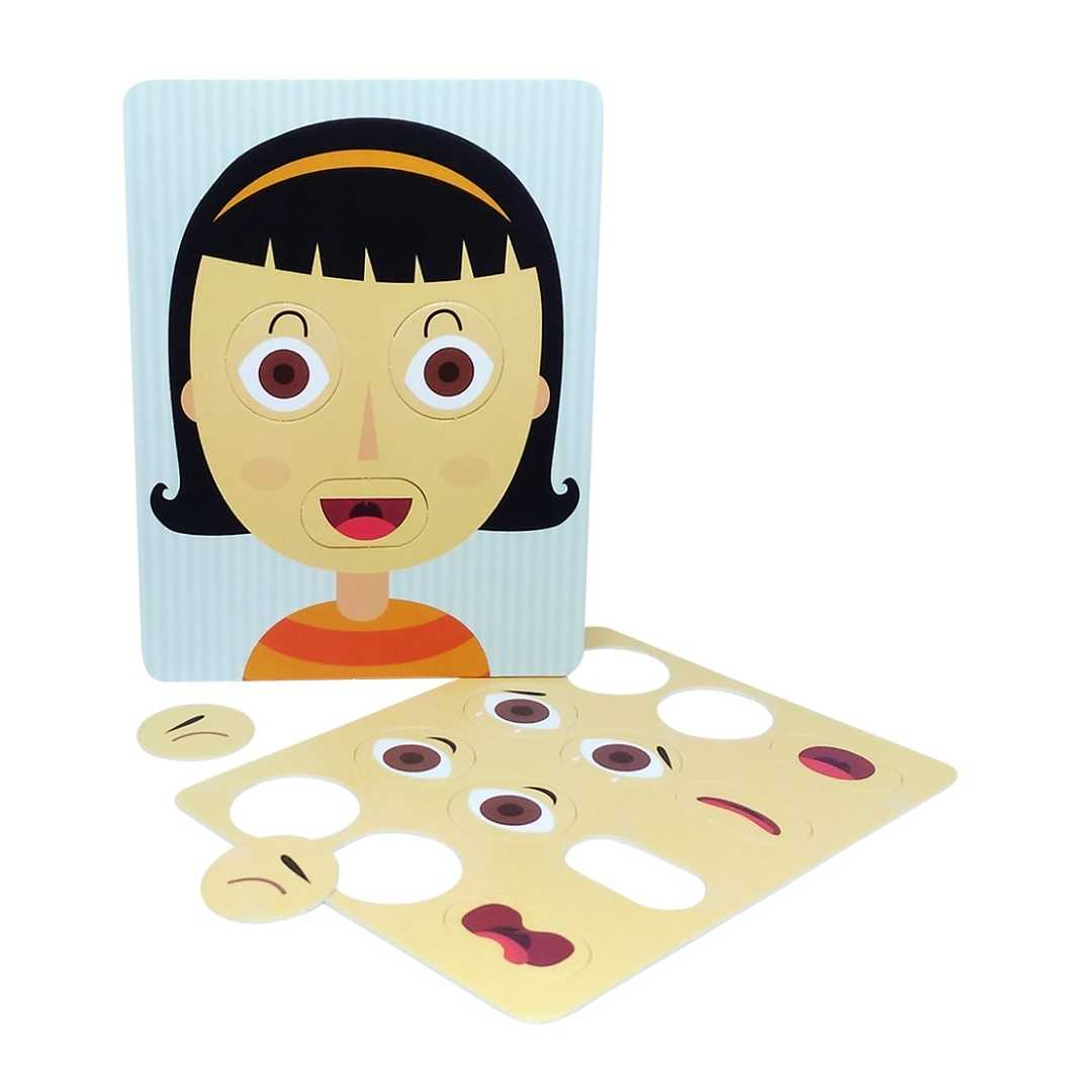 Escolinha Montessori Box Atividades Emoções