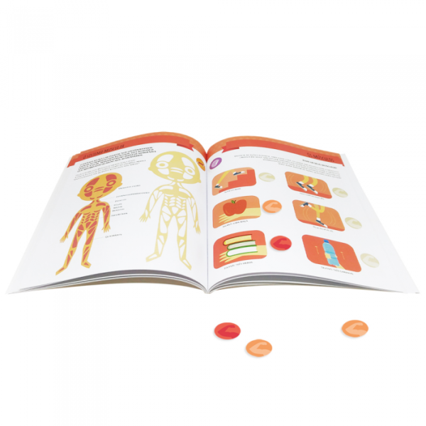 Escolinha Montessori: Meu primeiro livro de atividades - Meu corpo