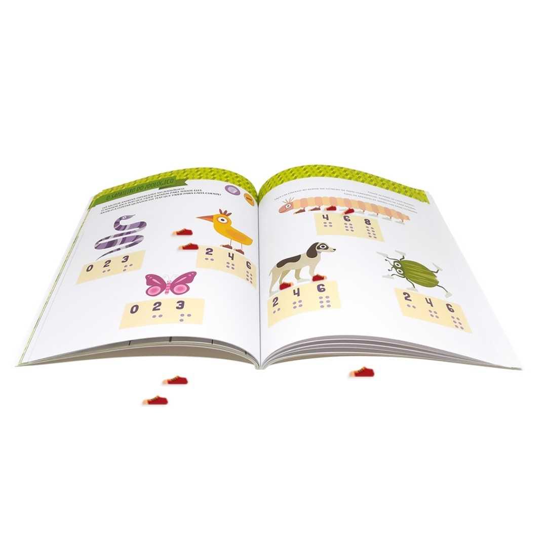 Escolinha Montessori Meu livro atividades números