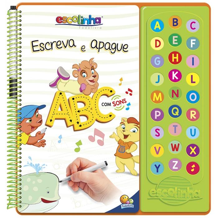 Escreva e Apague ABC Com Sons