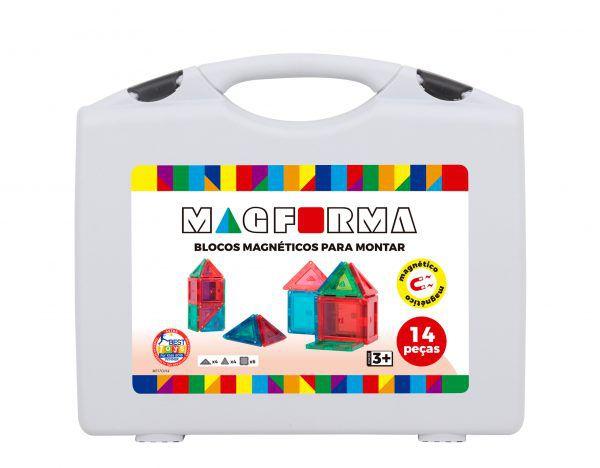 Jogo Magnético Magforma 14 peças