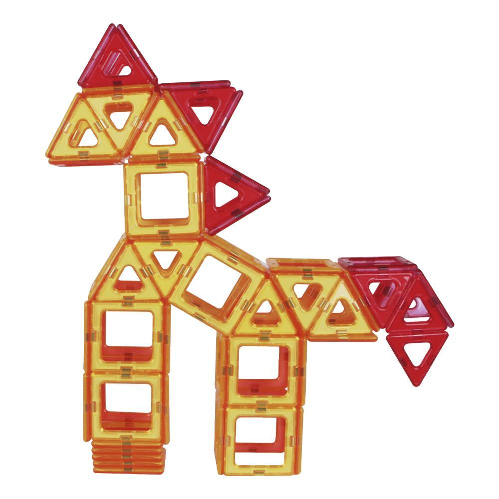 Blocos Magnéticos Magforma 30 peças vazadas