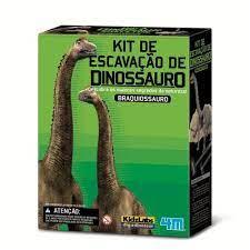 Kit de Escavação de Esqueleto - Braquiossauro