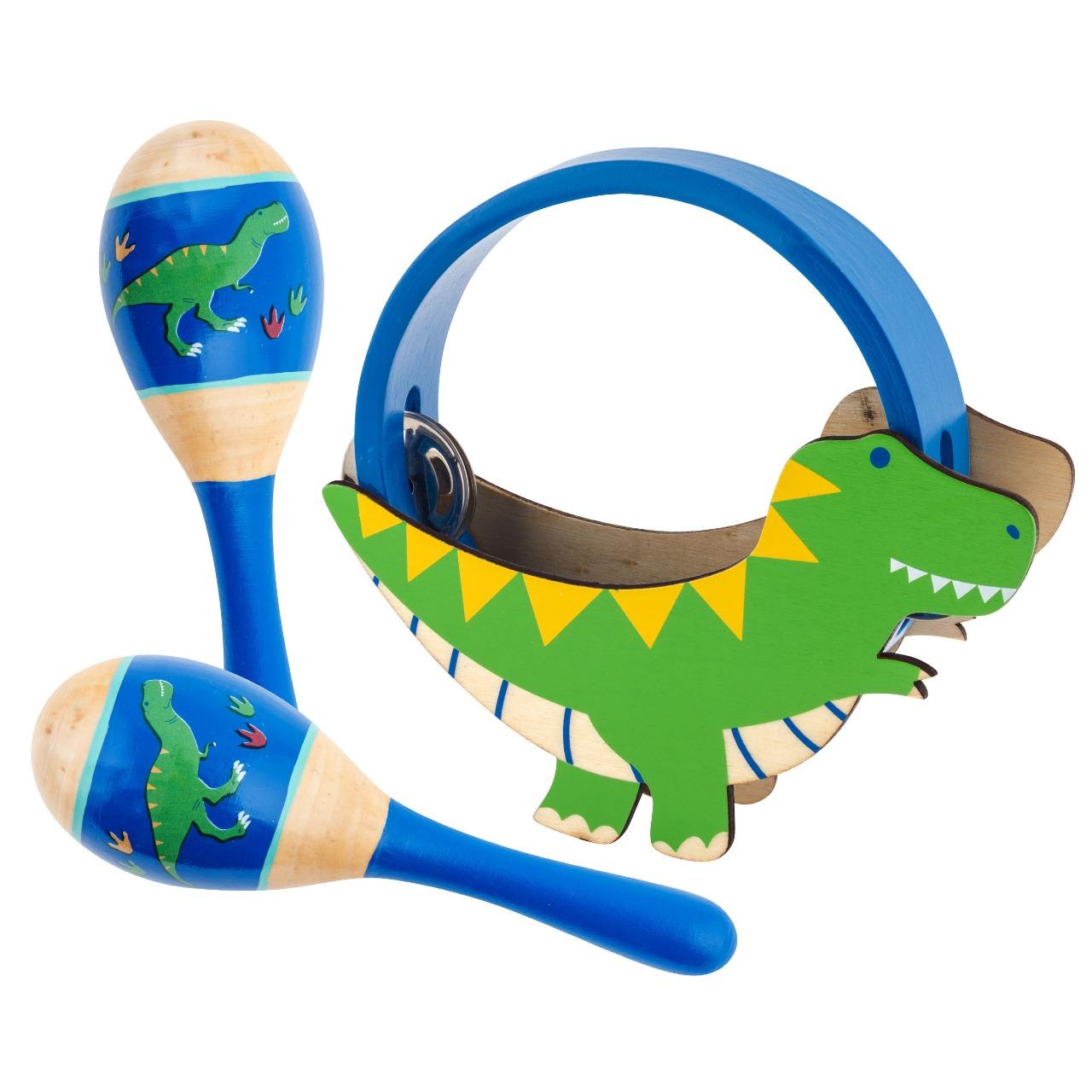 Kit De Percussão - Dino