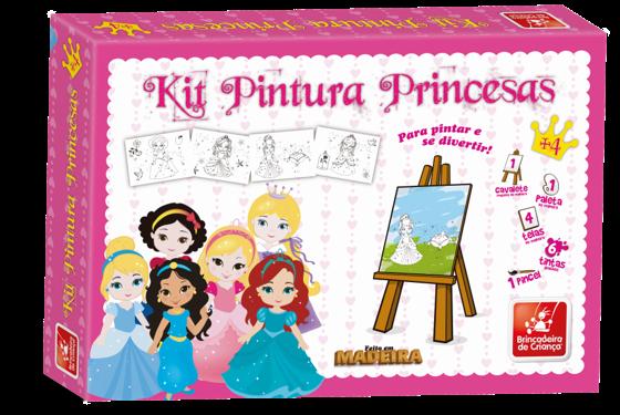 Kit de Pintura Princesa Baby