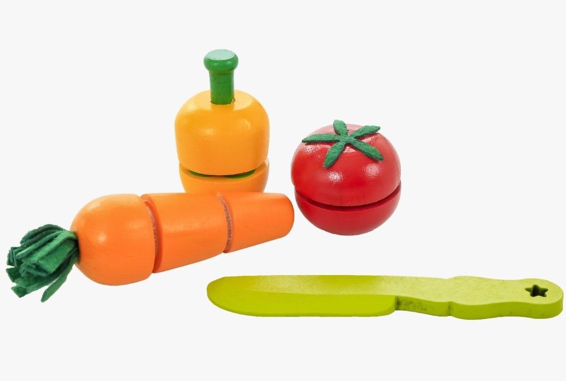 Kit Pimentão, Cenoura e Tomate para cortar