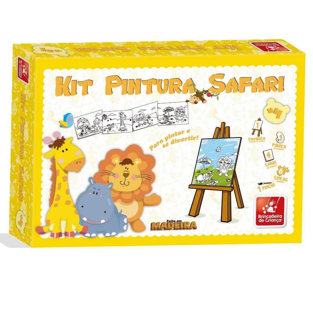 Kit de Pintura Safari