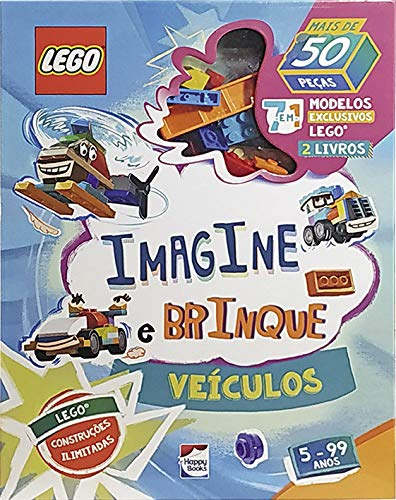 Lego Iconic - Imagine e Brinque - Veículos