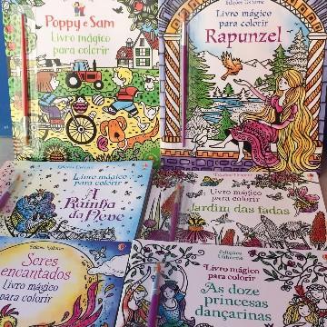 Livro mágico para colorir - As doze princesas bailarinas