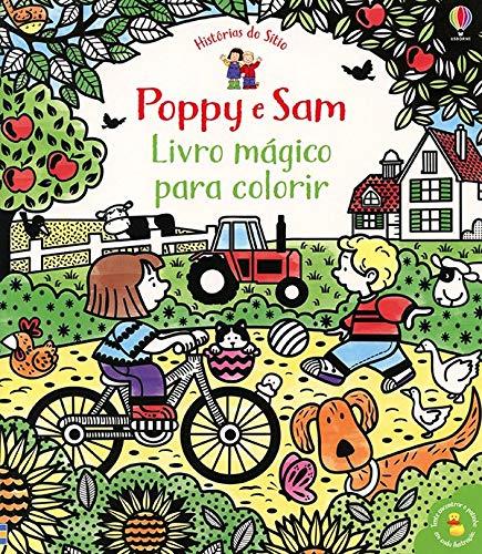 Livro Mágico para Colorir - Poppy e Sam