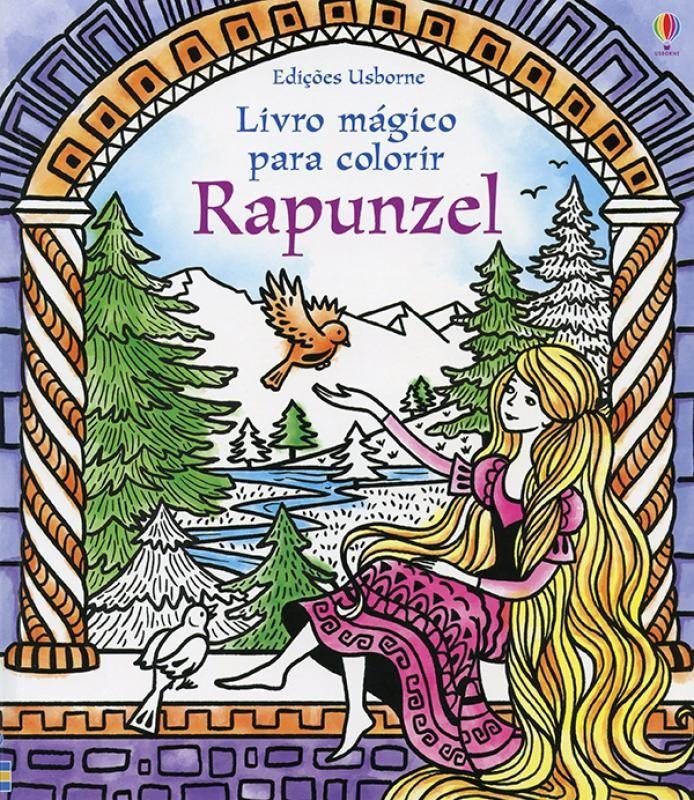 Livro Mágico para Colorir - Rapunzel