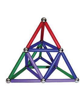 MagStix - Kit Colorido 38 peças