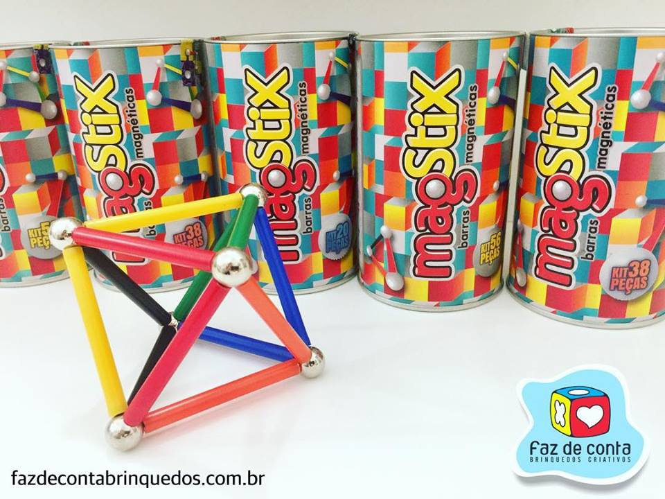 MagStix - Kit Florescente 20 peças