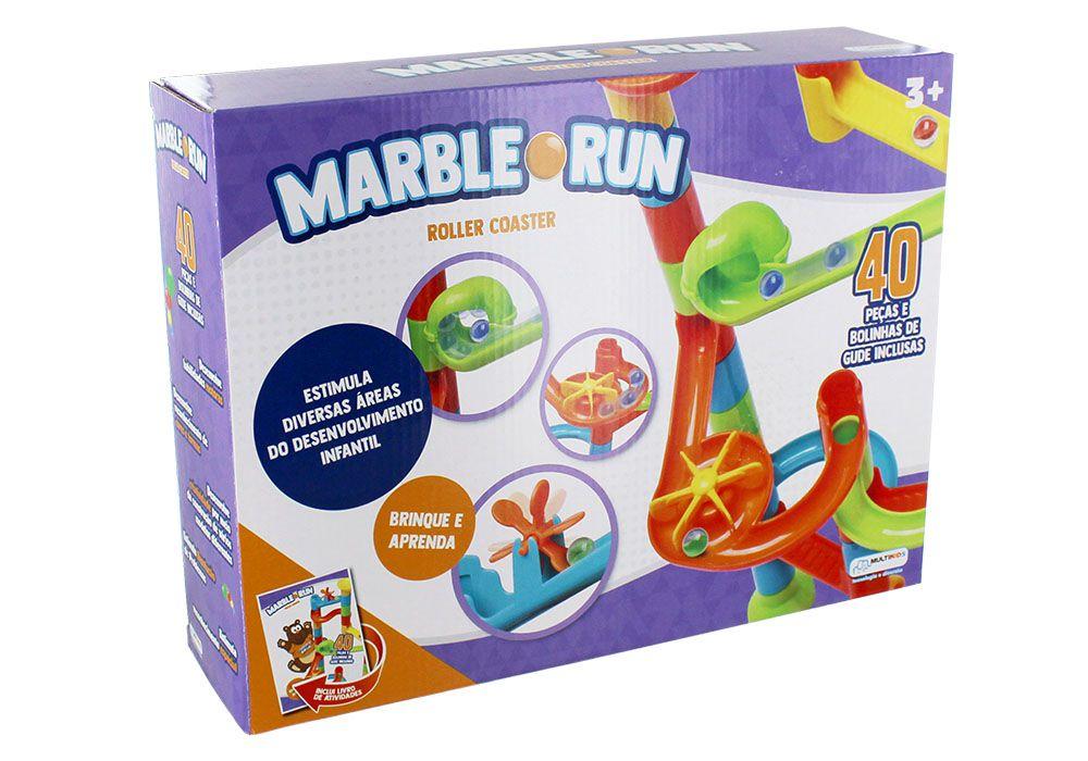 Marble Run Roller Coaster