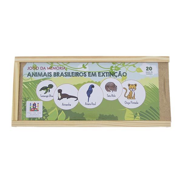 Memoria Animais Brasileiros em Extinção