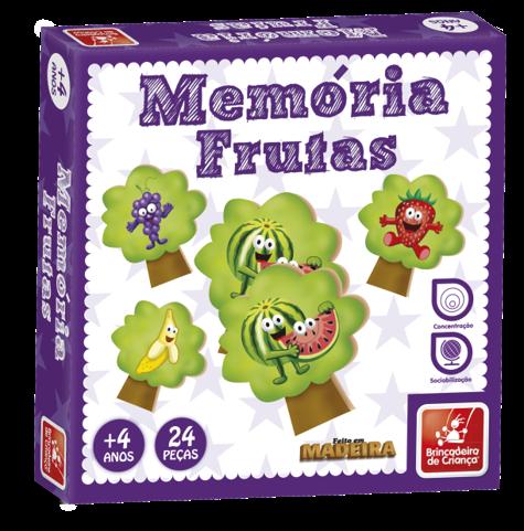 Memória Frutas