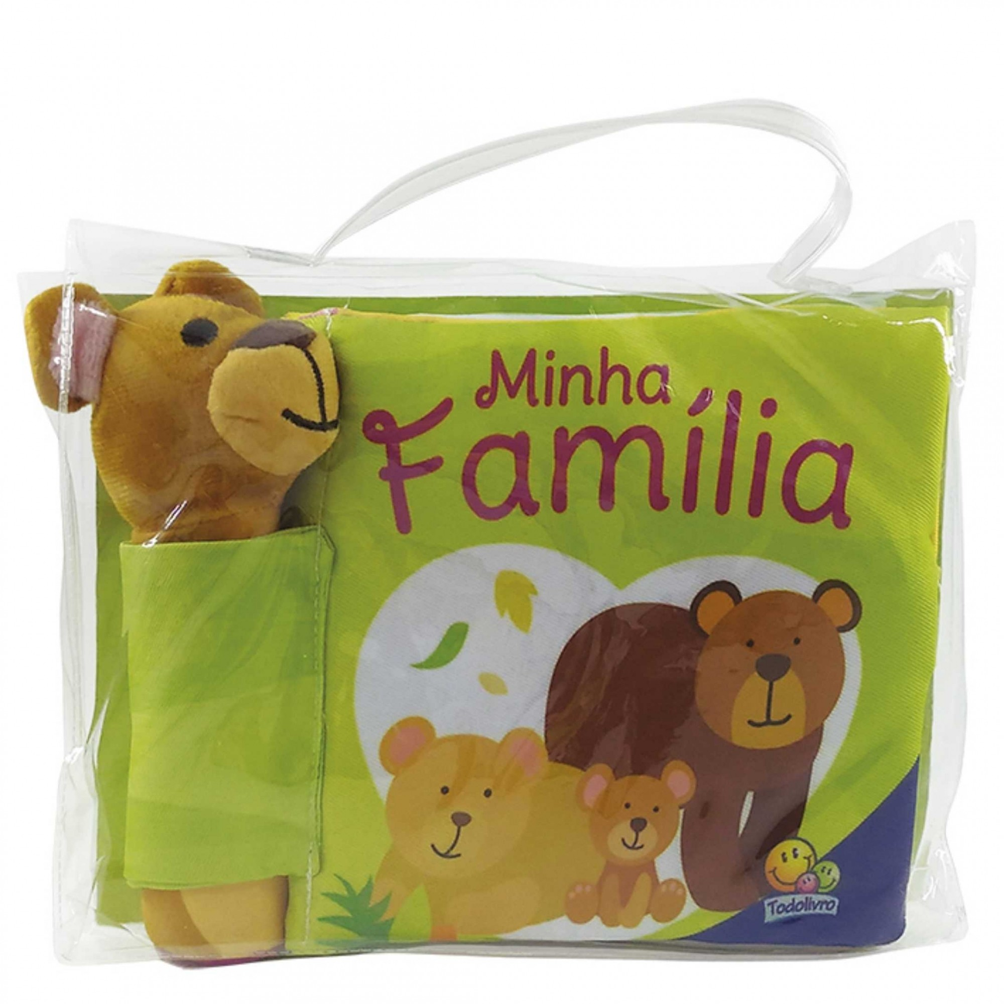 Minha Família - Livro de Pano Bip Bip