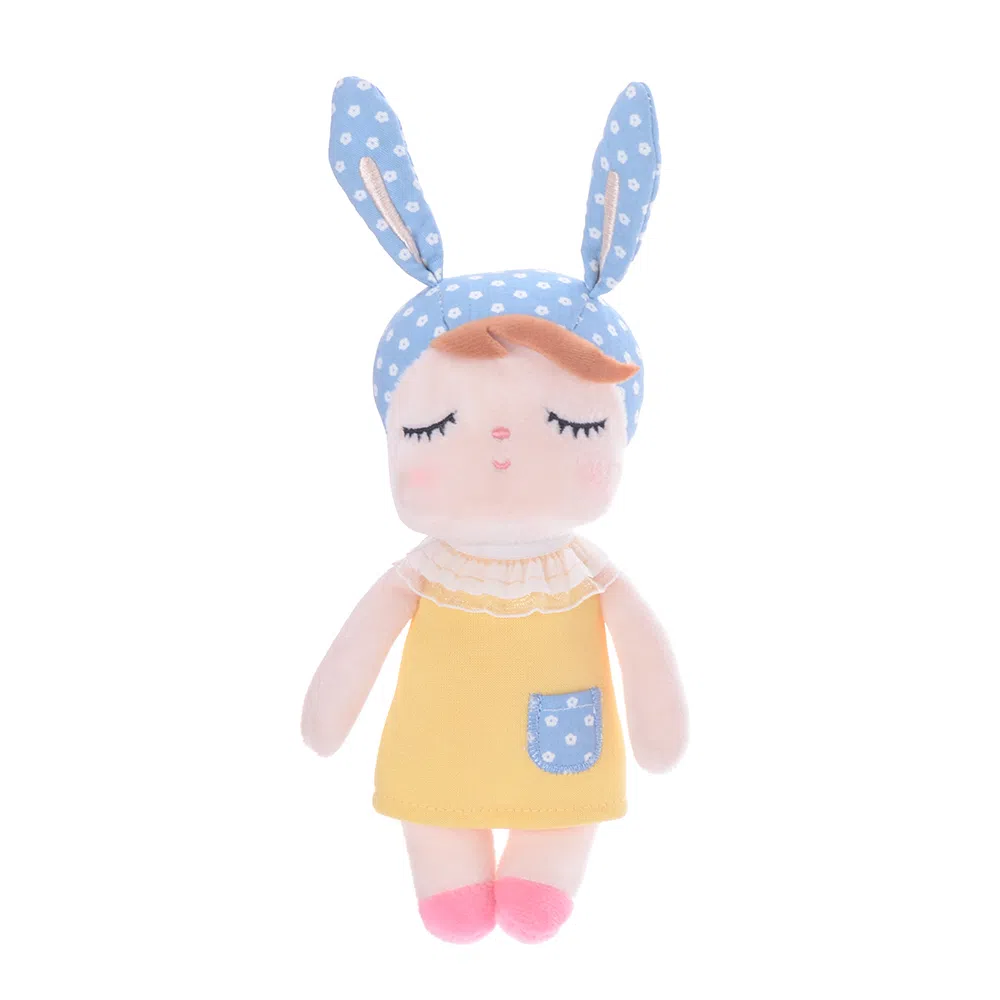 Mini Doll Metoo Ângela Clássica Amarela
