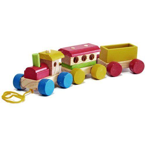 Mini Trem Monta e Desmonta