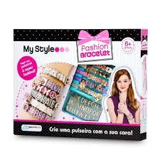 My Style Kit Pulseiras com Letras