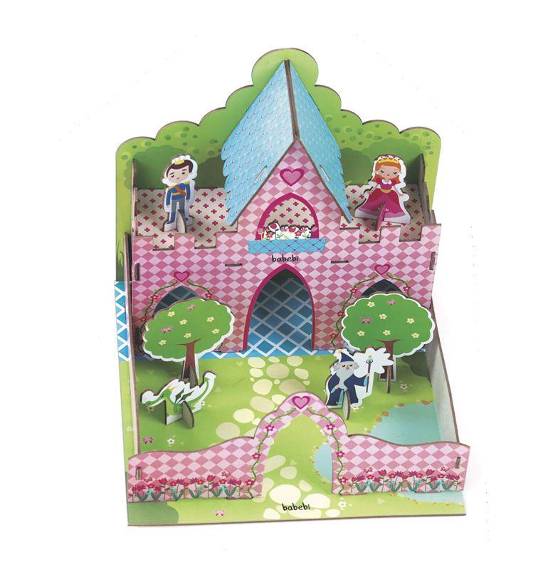 Quebra-Cabeça 3D Castelo da Princesa