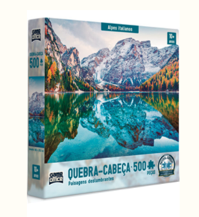 Quebra-Cabeça Alpes Italianos 500 peças