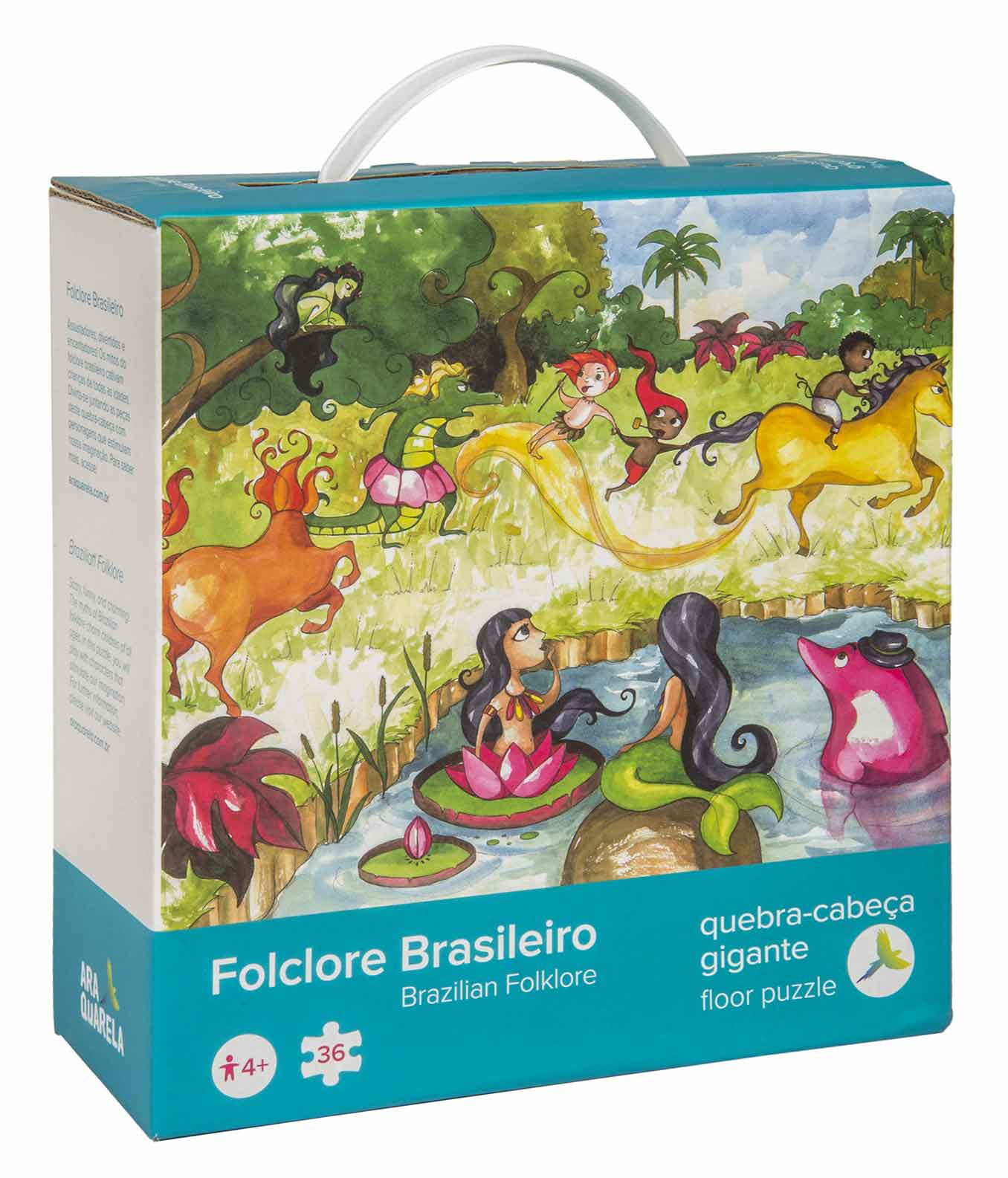 Quebra-Cabeça Gigante Folclore