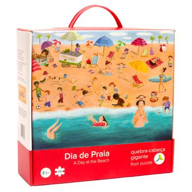 Quebra-Cabeça Gigante Dia de Praia