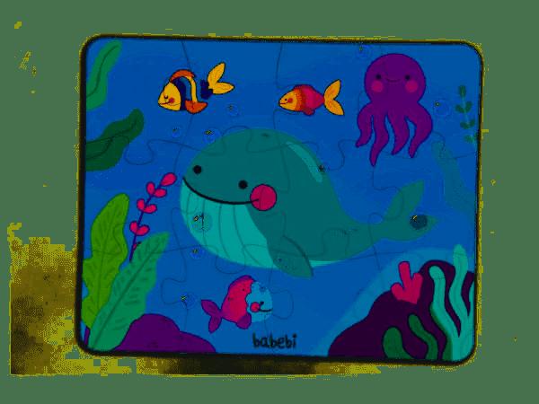 Quebra-Cabeça Gigante Fundo do Mar