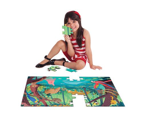 Quebra-Cabeça Grandão 48 peças - Amazônia