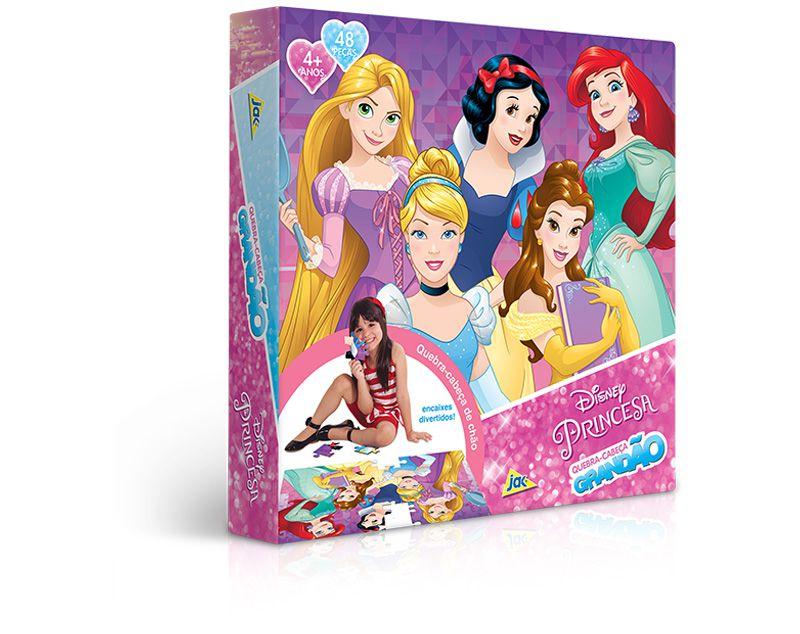 Quebra-Cabeça Grandão Princesas