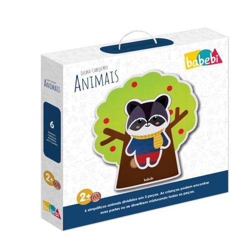 Quebra-Cabeça Mix de Animais