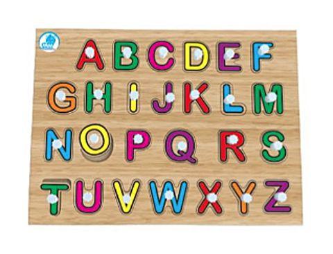 Quebra-Cabeça Pinos - Alfabetização