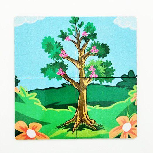 234 peças de quebra-cabeças Adulto difícil Noctilucentes growups quebra-cabeça Fantasia Árvore