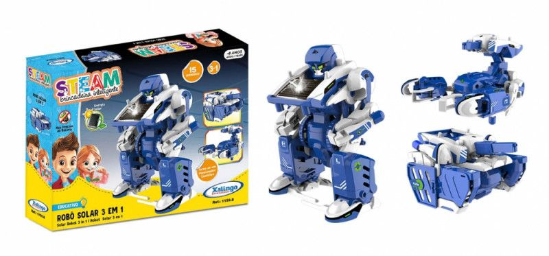 Robô Solar 3 X 1