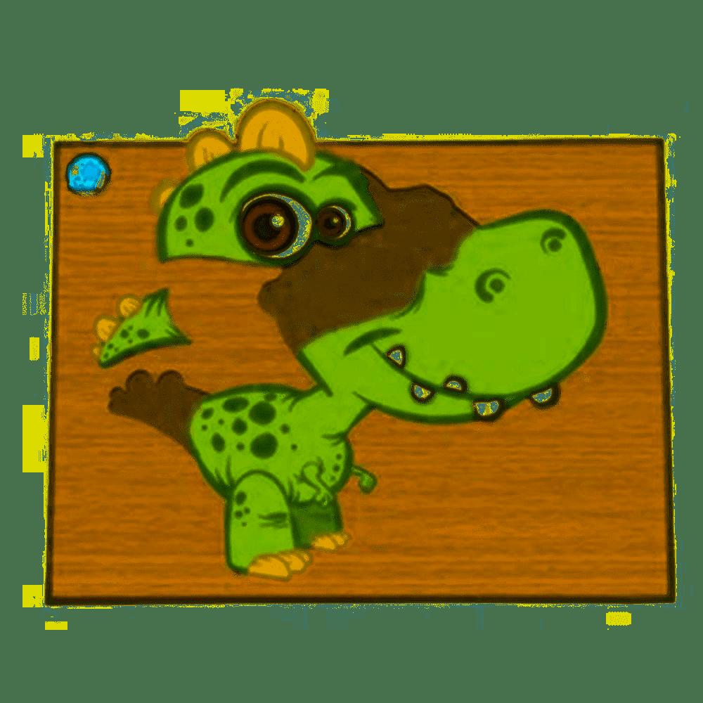 Super Quebra-Cabeça Dino